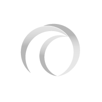 Polyester band 35 mm - 100 m op rol - zonder strepen-Blauw