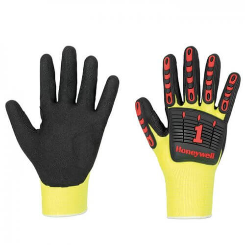 Honeywell Skeleton nit 1 handschoen - high viz