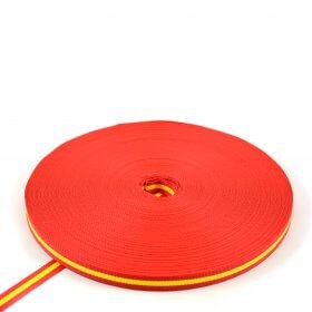 Polypropyleen band Spanje - 500 kg - 25 mm - 100 m op rol MB>